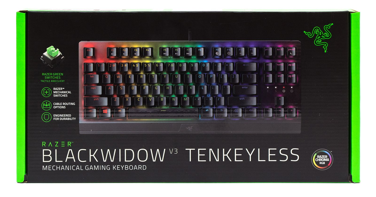 Клавиатура Razer BlackWidow V3 Tenkeyless. Фото 2