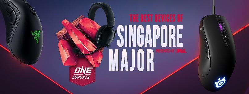 Лучшие девайсы турнира ONE Esports Singapore Major 2021!