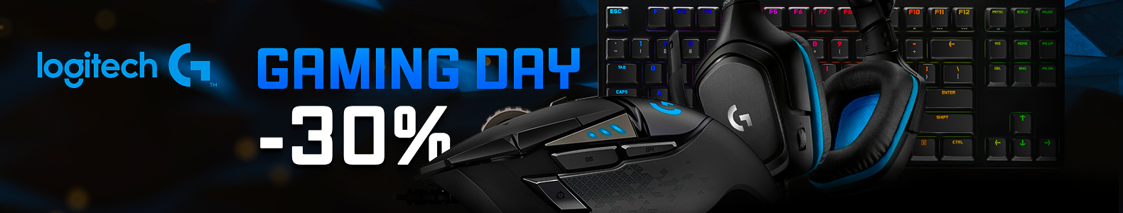 Gaming Day by Logitech!