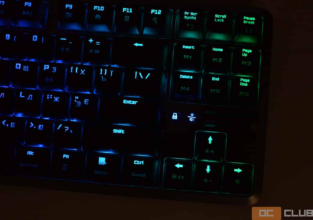 Клавиатура Hator Skyfall TKL. Фото 8