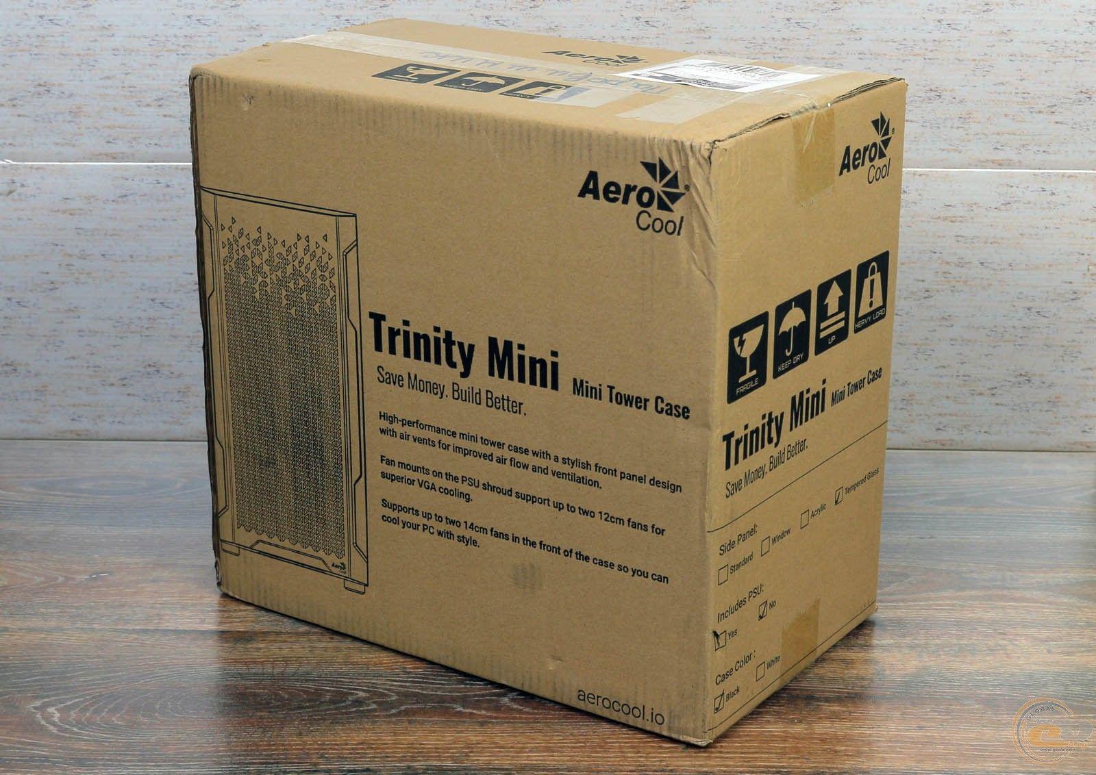 Корпус AeroCool Trinity Mini. Фото 2