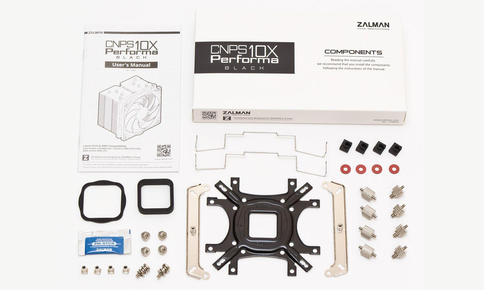 Кулер Zalman CNPS10X Performa Black. Фото 4