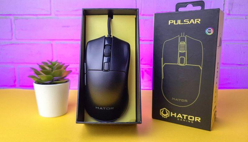 Обзор Hator Pulsar: что предлагает геймерам доступная игровая мышка