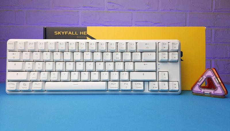 Обзор Hator Skyfall HEX Wireless: настраиваемая игровая клавиатура формата 65% с RGB-подсветкой