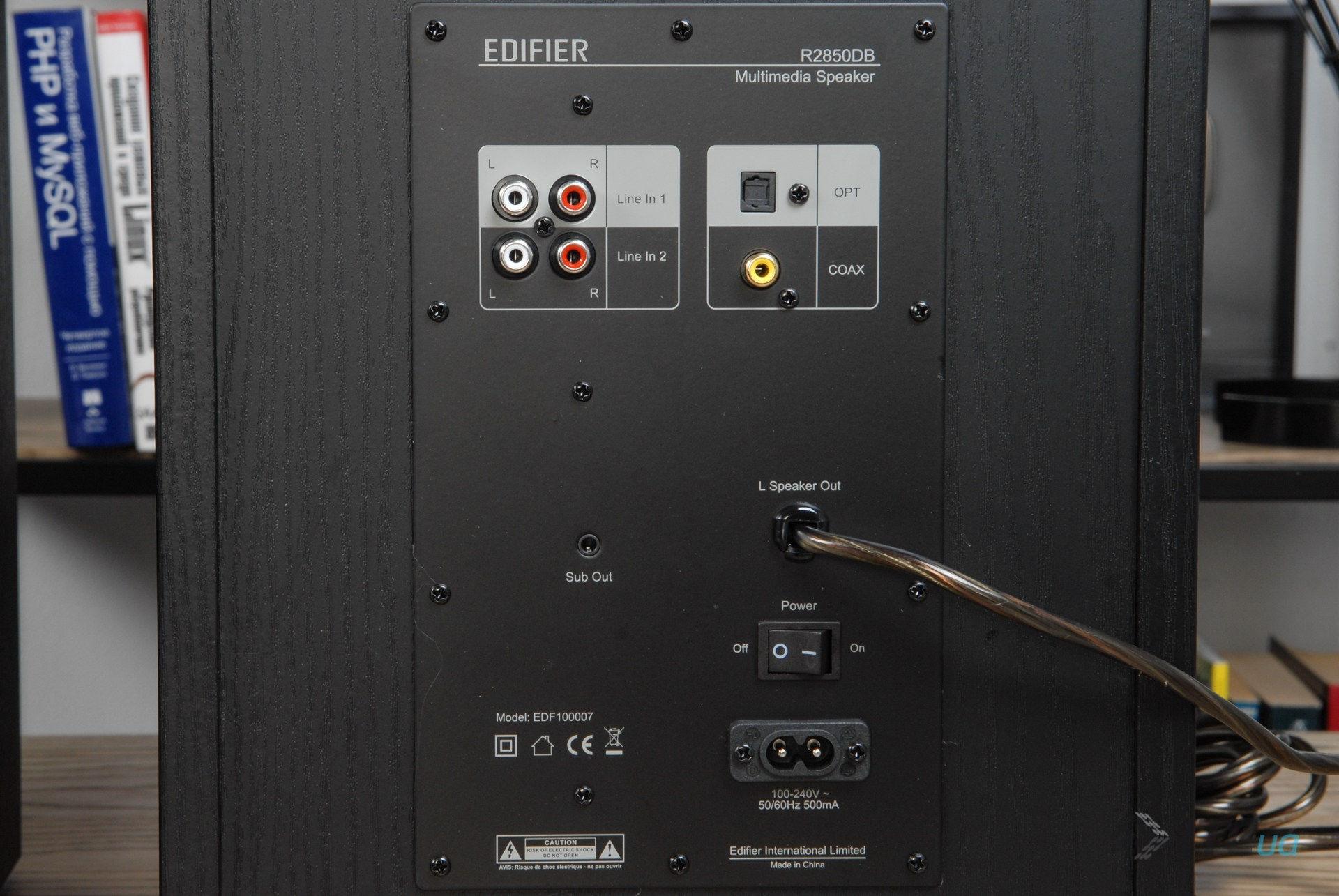 Колонки Edifier R2850DB. Фото 7