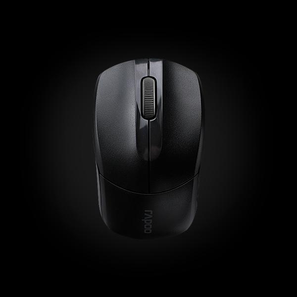 Rapoo Wireless Optical Mouse 1190 Black купить