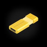 Verbatim 16 GB Store 'n' Go PinStripe Yellow (49066)