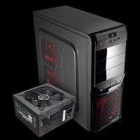 AeroCool PGS V3X Advance Black (4713105954753) + Aerocool VX-550