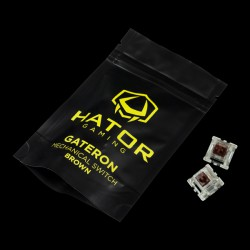 Hator Hotswap Switch Gateron Brown (HTS-119)
