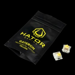 Hator Hotswap Switch Gateron Yellow (HTS-116)