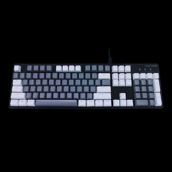 Hator Set of PBT keycaps Monochrome Edition (HTS-130) купить
