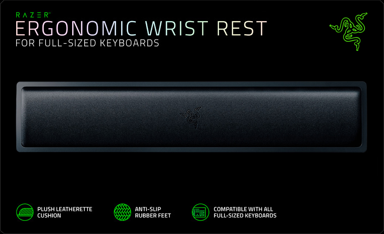Razer Ergonomic Wrist Rest (RC21-01470200-R3M1)