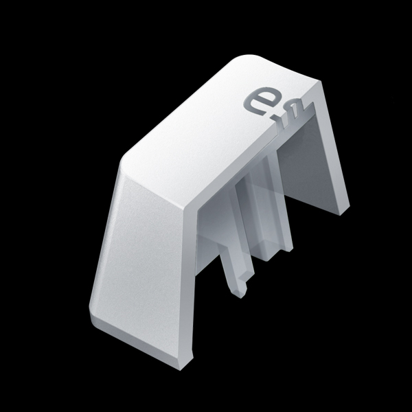 Razer PBT Keycap Mercury White, 120 pcs (RC21-01490200-R3M1) цена