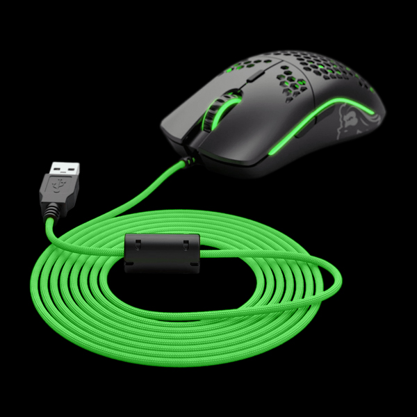 Сменный кабель для мышки Glorious Ascended Cable V2 Gremlin Green (G-ASC-GREEN-1)