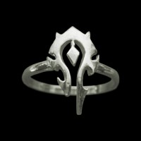 Кольцо World of warcraft Horde (silver 925) размеры 15-18