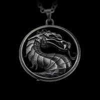 Кулон Mortal Combat (Silver)