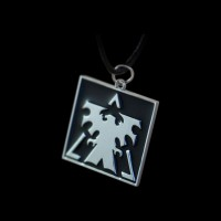 StarCraft 2 Terran Necklace Black