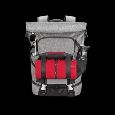 Acer Predator Gaming Rolltop Backpack Gray Black