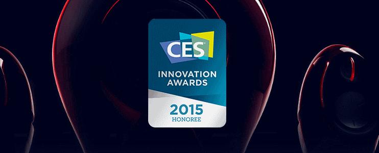 CES2015 на черном фоне