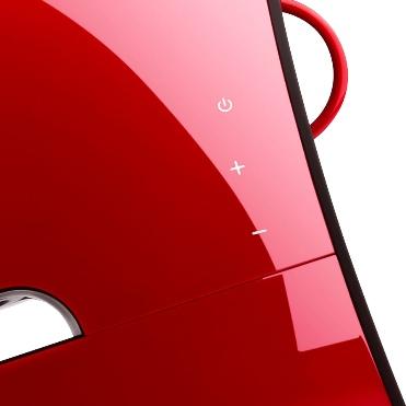 Красный сателит сбоку