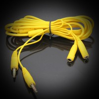 Удлинитель для гарнитуры на PC 2х3.5mm jack 2m Yellow
