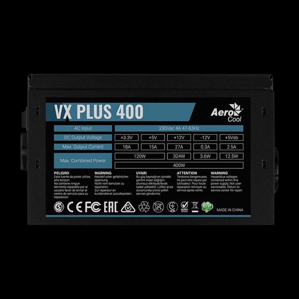 AeroCool 400W VX 400 Plus цена