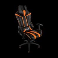 AeroCool AC120BO Gaming Chair (Black/Orange)