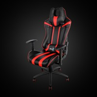 AeroCool AC120BR Gaming Chair Black/Red