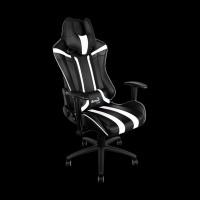AeroCool AC120BW Gaming Chair (Black/White)