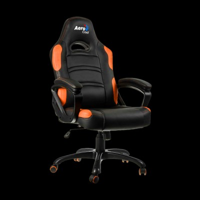 AeroCool C80 Comfort Gaming Chair Black/Orange
