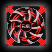 AeroCool DS 140 mm Red (4713105951615)