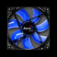 Aerocool Lightning Blue LED 120mm Black (ACF3-LT10110.B1)