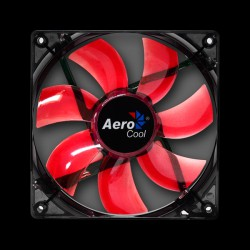 Aerocool Lightning Red LED 120mm Black (ACF3-LT10110.R1)