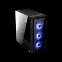 AeroCool PGS Quartz Blue Window Glass Black (ACCM-PB07043.B1)