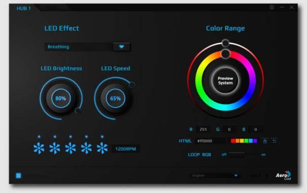 Приложение для работы с RGB-подсветкой