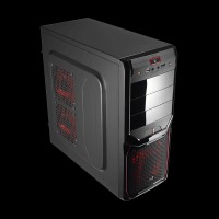 AeroCool PGS V3 X Advance Devil Red (4713105954913) + Aerocool VX-550