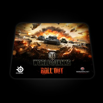 SteelSeries QcK World of Tanks Tiger Edition купить