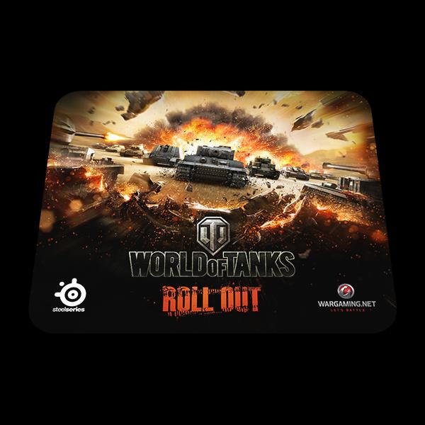 SteelSeries QcK World of Tanks Tiger Edition купить