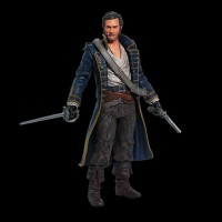 Assassins Creed 4 Benjamin Hornigold Action Figure