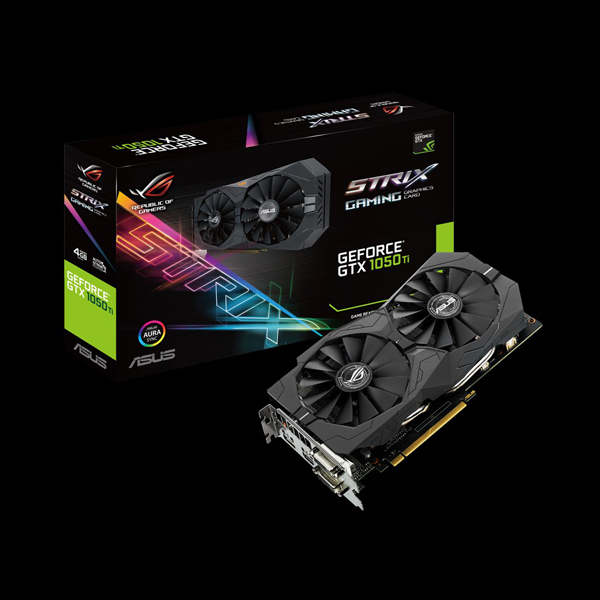 Asus GeForce® GTX 1050 Ti Strix 4G (STRIX-GTX1050TI-4G-GAMING) стоимость