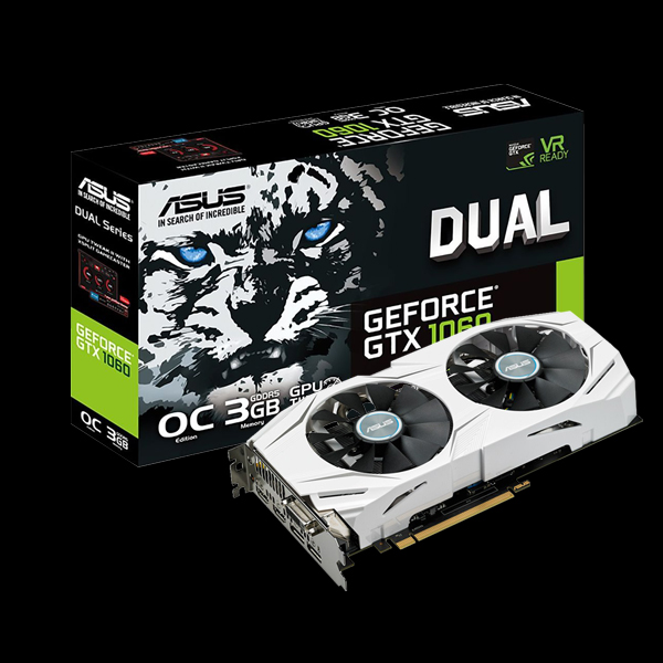 Asus GeForce® GTX 1060 Dual 3G (DUAL-GTX1060-3G) фото