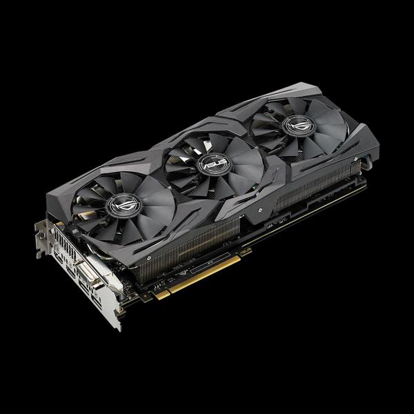 Asus GeForce GTX 1080 Strix OC PS 8G (STRIX-GTX1080-O8G-11GBPS) купить