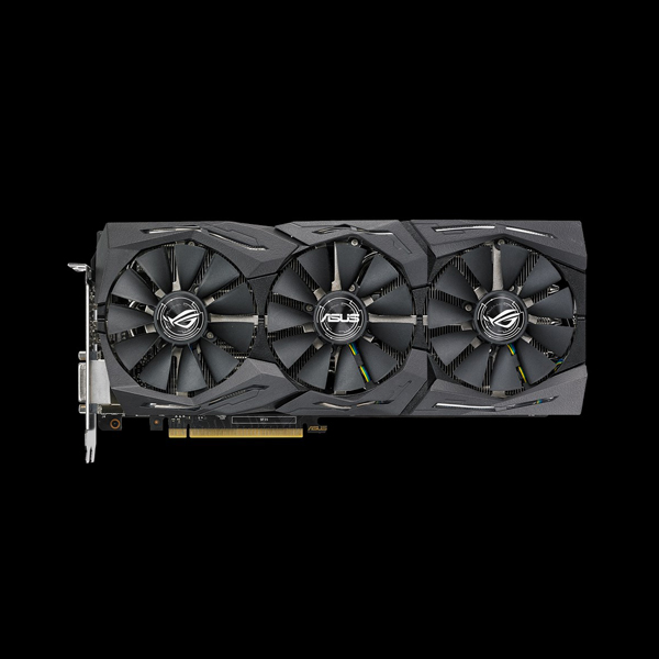 Asus GeForce GTX 1080 Strix OC PS 8G (STRIX-GTX1080-O8G-11GBPS) цена