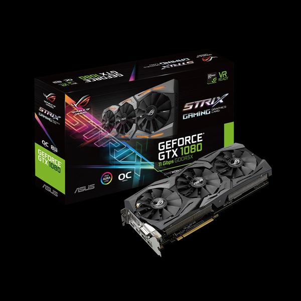 Asus GeForce GTX 1080 Strix OC PS 8G (STRIX-GTX1080-O8G-11GBPS) стоимость
