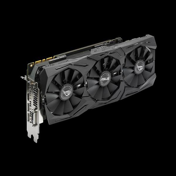 Asus GeForce® GTX 1080 Ti Strix OC 11G (STRIX-GTX1080TI-O11G-GAMING) цена