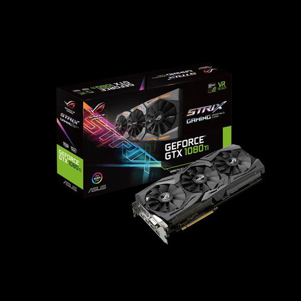 Asus GeForce® GTX 1080 Ti Strix OC 11G (STRIX-GTX1080TI-O11G-GAMING) фото