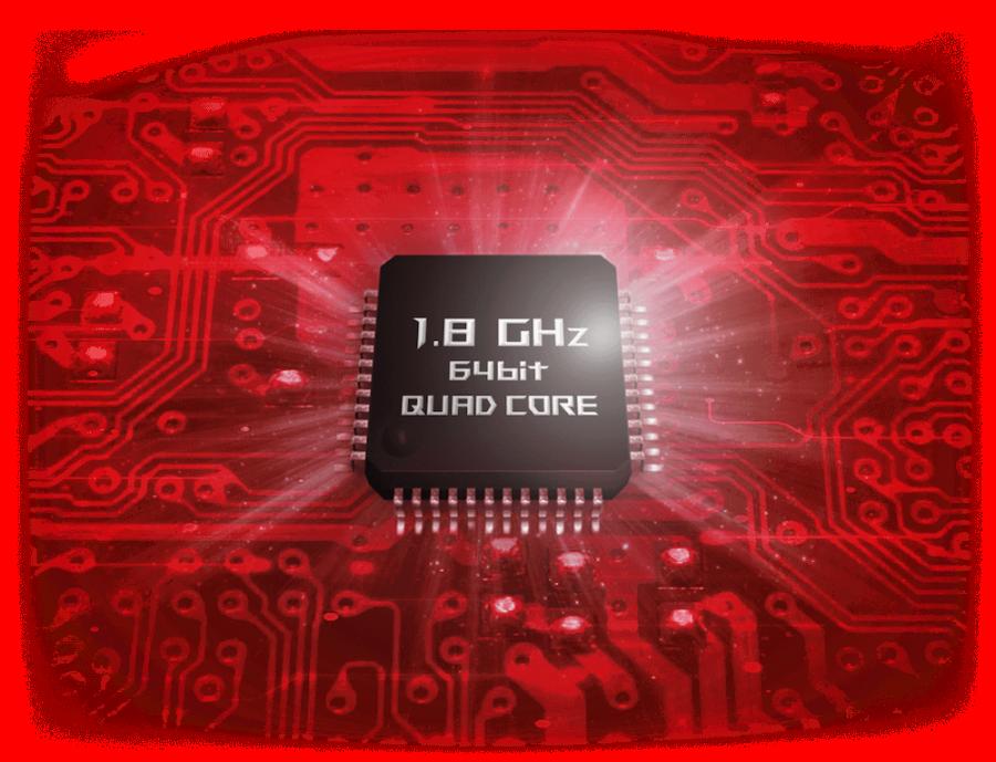 Мощный четырехъядерный процессор