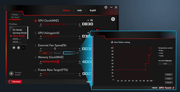 Утилита GPU Tweak II