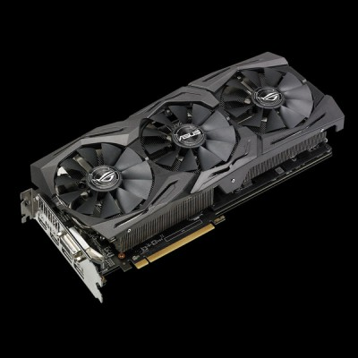<b>Видеокарта Asus Radeon RX</b> 580 Strix TOP 8GB (STRIX-RX580 ...