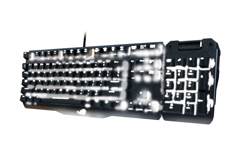 Asus ROG Claymore Cherry MX Brown